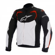 Jaqueta Alpinestars T-GP Pro (Black/White/Red)