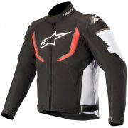 Jaqueta Alpinestars T-GP R WP - Black/White/Red