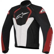 Jaqueta Alpinestars T-Jaws WP (Black/Red/White) (Impermeável) - LANÇAMENTO