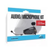 Kit Audio e Microphone Kit Cardo p/ Freecom 1/2 e 4