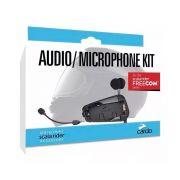 Kit Audio e Microphone Kit Cardo p/ Freecom