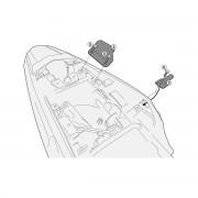 Kit de fixação Givi 1121KIT para PL1121/PL1121CAM sem o monorack Honda CB500X- Pronta Entrega