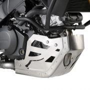 Protetor de cárter Givi RP3105 em alumínio P/ DL1000 14 à 18