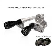 Slider Dianteiro Procton com Amortecimento p/ Versys 650 10/15