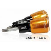 Slider Dianteiro Procton com Amortecimento p/ ZXR(636) 13/16 Roletado