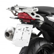 Base/Rack para Baús Monokey BMW F800 R 09-17 (SRA691 em alumínio)- Pronta Entrega
