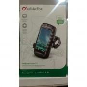 Suporte de Telefone Para Moto Universal Uni Case Holder 52 (Cellularline)