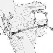 Suporte Lateral Givi PL4114 para Versys 650 15/17 - (Malas E21/E41/E360/Trekker - Pronta Entrega)
