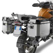 Suporte Lateral PL684CAM para baú Givi OUTBACK TREKKER - BMW R1200GS 04-12 e Adventure 06/13- Consulte-nos