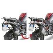 Suporte Lateral PLR5108 Givi para BMW R1200GS 13/18 e Adv 14/17 (Baús E21 / E41 / E360 / TREKKER) Pronta Entrega