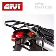 Suporte traseiro/Bagageiro Givi SR374 p/ Yamaha Teneré 250 até 2014