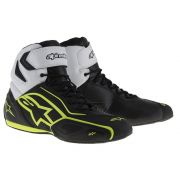 Tênis Alpinestars Faster 2 - WP - (Black/White/Yellow Fluo)