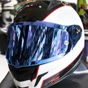Viseira Nexx XR2 Espelhadas (Prata ou Azul)