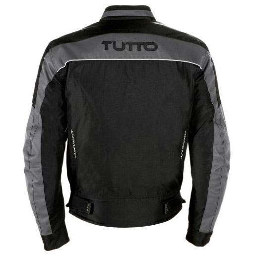 Jaqueta Tutto Fiber Cinza Impermeável (fyber)  - Nova Suzuki Motos e Acessórios
