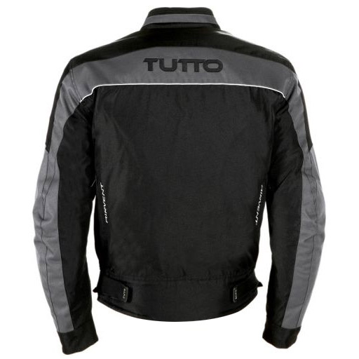 Jaqueta Tutto Fyber Cinza Impermeável (fyber)  - Nova Suzuki Motos e Acessórios