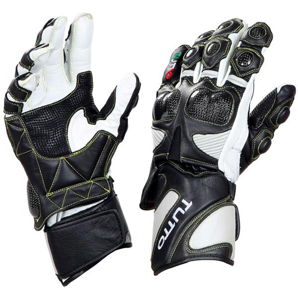 Luva Tutto Moto Racing/Carb Couro  - Nova Suzuki Motos e Acessórios