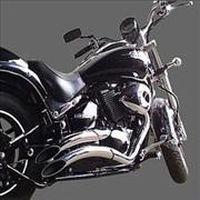 Escapamento Halley JJ p/ Boulevard 800/1500  - Nova Suzuki Motos e Acessórios