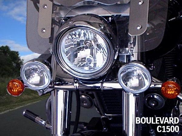 Farol Auxiliar FMV p/ Suzuki Boulevard 800 e C1500  - Nova Suzuki Motos e Acessórios