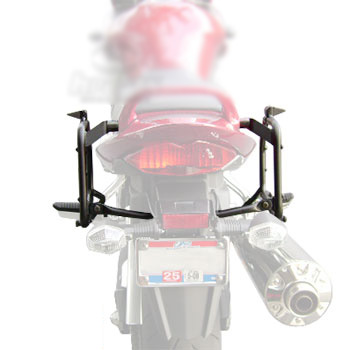 Suporte lateral Givi PL539 para 650F/Bandit 650/1250 07-12 (E21 e E22/E41/E360/TREKKER) - Pronta Entrega  - Nova Suzuki Motos e Acessórios