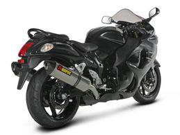 Escapamento Akrapovic Duplo Hayabusa  - Nova Suzuki Motos e Acessórios