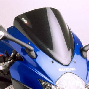 Bolha Puig Suzuki GSX R750 até 2011 - Fumê escuro/Fumê clara  - Nova Suzuki Motos e Acessórios