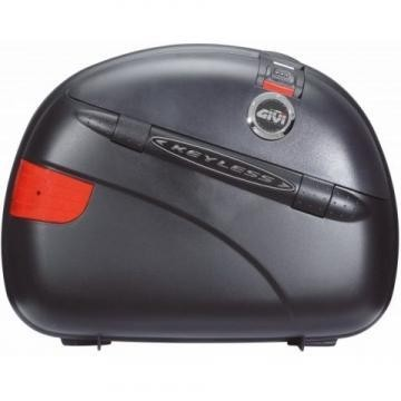 Baú Lateral Givi e41 Keyless Preto (Par) - Pronta Entrega  - Nova Suzuki Motos e Acessórios