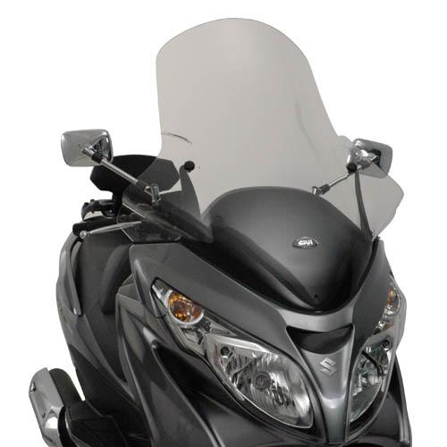 Parabrisa para Burgman 400 Givi 266DT (72,5 x 79,5) - Pronta Entrega  - Nova Suzuki Motos e Acessórios