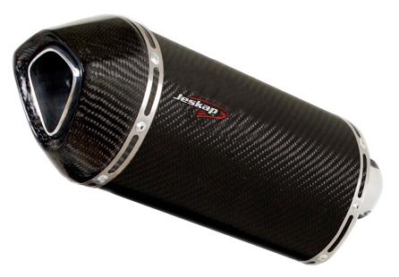Escapamento Jeskap BMW Three Carbon Aluminium 4,5 F650GS / F800GS / F800R  - Nova Suzuki Motos e Acessórios