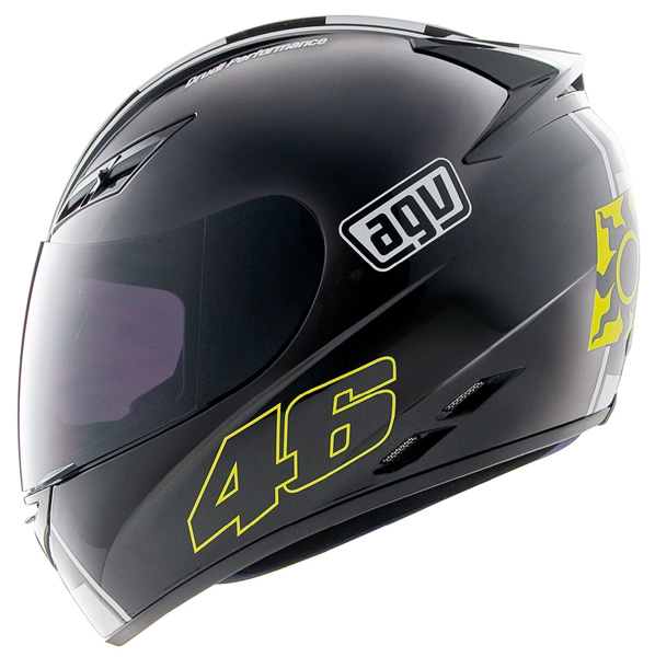 Capacete AGV K-3 Celebr-8 Valentino Rossi  - Nova Suzuki Motos e Acessórios