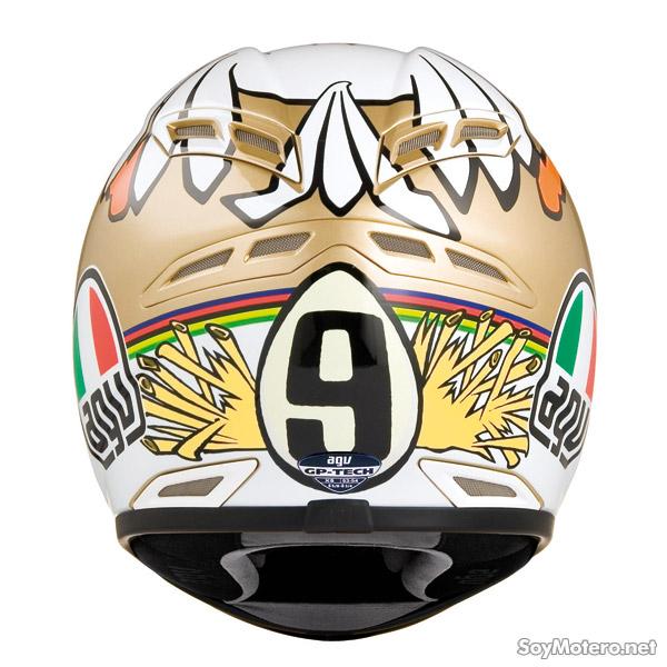 Capacete AGV GP-TECH Rossi Chicken  - Nova Suzuki Motos e Acessórios