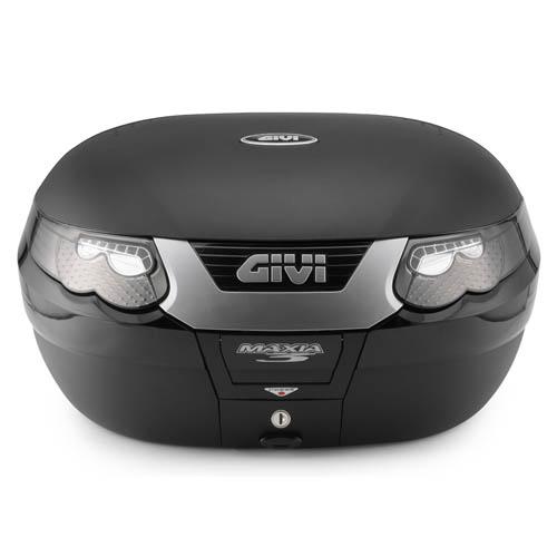Baú Givi E55N Maxia 3 Tech - Fumê Traseiro - Pronta Entrega  - Nova Suzuki Motos e Acessórios
