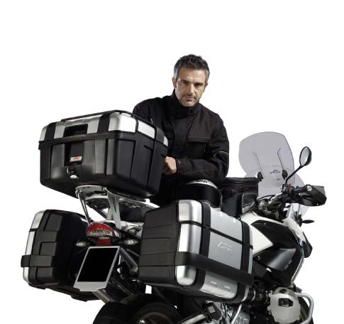 Baú Givi TREKKER ALUMINUM 33 LITROS (lateral ou traseiro) - Pronta Entrega  - Nova Suzuki Motos e Acessórios