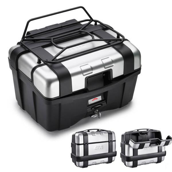 Baú Givi TREKKER Aluminium 46 Litros  - Pronta Entrega  - Nova Suzuki Motos e Acessórios