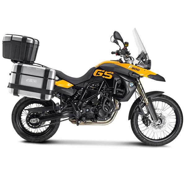 Baú Givi TREKKER ALUMINUM 46 LITROS Traseiro - Pronta Entrega  - Nova Suzuki Motos e Acessórios