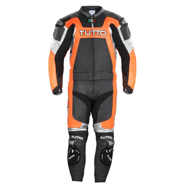 Macacão Tutto Titanium Fluor - 2 peças (Racing)  - Nova Suzuki Motos e Acessórios