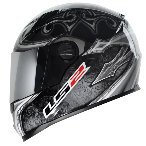 Capacete LS2 FF358 Scorpion Prata  - Nova Suzuki Motos e Acessórios