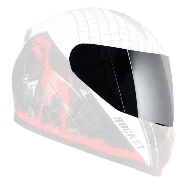 Viseira Joe Rocket Espelhada Prata Original  - Nova Suzuki Motos e Acessórios