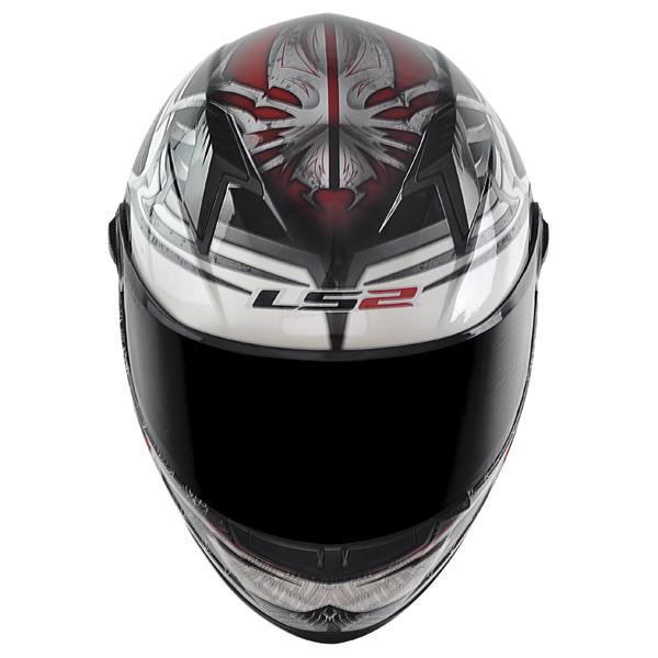 Capacete LS2 FF358 Spider - Preto c/ Vermelho( Só 62 )  - Nova Suzuki Motos e Acessórios