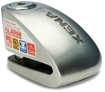 Trava de Disco Xena c/ Alarme - XX6 (6mm)  - Nova Suzuki Motos e Acessórios
