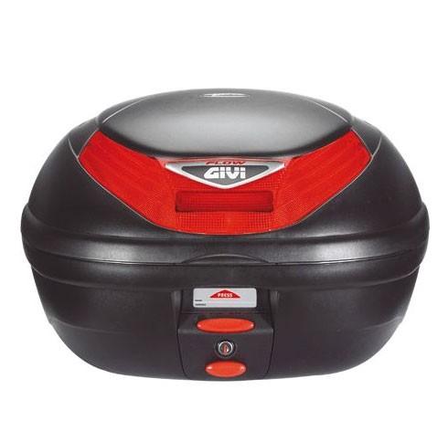 Baú Givi E350 Flow litros   - Nova Suzuki Motos e Acessórios