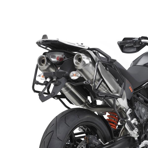 Suporte Lateral PL367 p/ baú Givi (E21 e E22/E41/E360/TREKKER) de Super Teneré 1200Z 10-11 - Pronta Entrega  - Nova Suzuki Motos e Acessórios