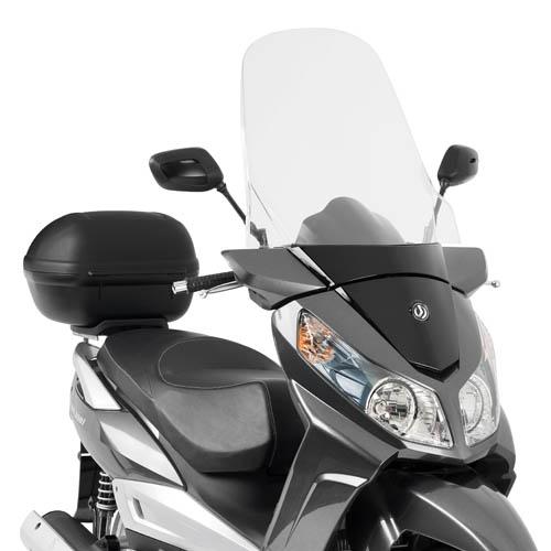 Parabrisa Givi alto D650st - Dafra Citycom 300 - Pronta Entrega  - Nova Suzuki Motos e Acessórios