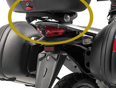 Base p/ Baús Givi Transalp 700 (E225M / E225) - Pronta entrega  - Nova Suzuki Motos e Acessórios