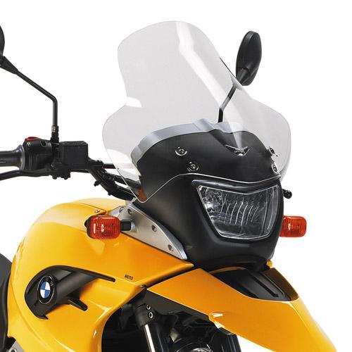 Parabrisa Transparente Givi D5101ST p/ G650GS 11/17 (41x39) - Sob Encomenda  - Nova Suzuki Motos e Acessórios