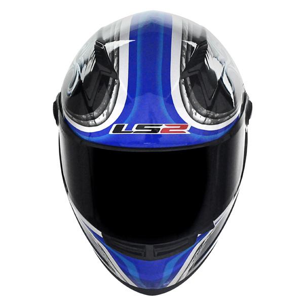 Capacete LS2 FF358 Scorpion Blue  - Nova Suzuki Motos e Acessórios