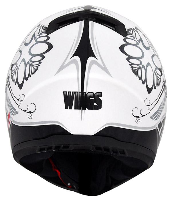 Capacete LS2 FF358 Wings Preto/Branco (consulte-nos)  - Nova Suzuki Motos e Acessórios