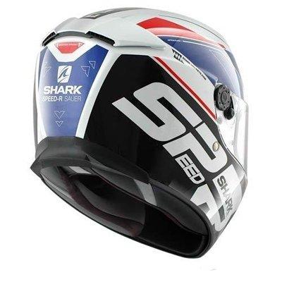 Capacete Shark Speed-R Sauer WBR  - Nova Suzuki Motos e Acessórios