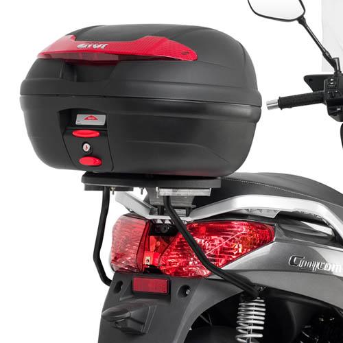 Suporte Givi p/ Baú Traseiro Importado SR231 - Dafra Citycom 300 (base M-5 acompanha o produto)  - Nova Suzuki Motos e Acessórios