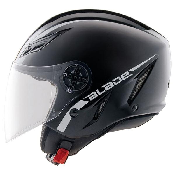 Capacete AGV Blade Mono Black (Brilhante)   - Nova Suzuki Motos e Acessórios
