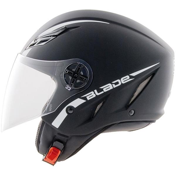 Capacete AGV Blade Mono Black Flatt (Fosco)  - Nova Suzuki Motos e Acessórios